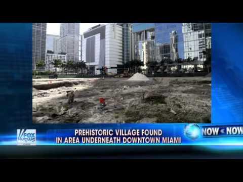 Prehistoric village found in area under downtown Miami