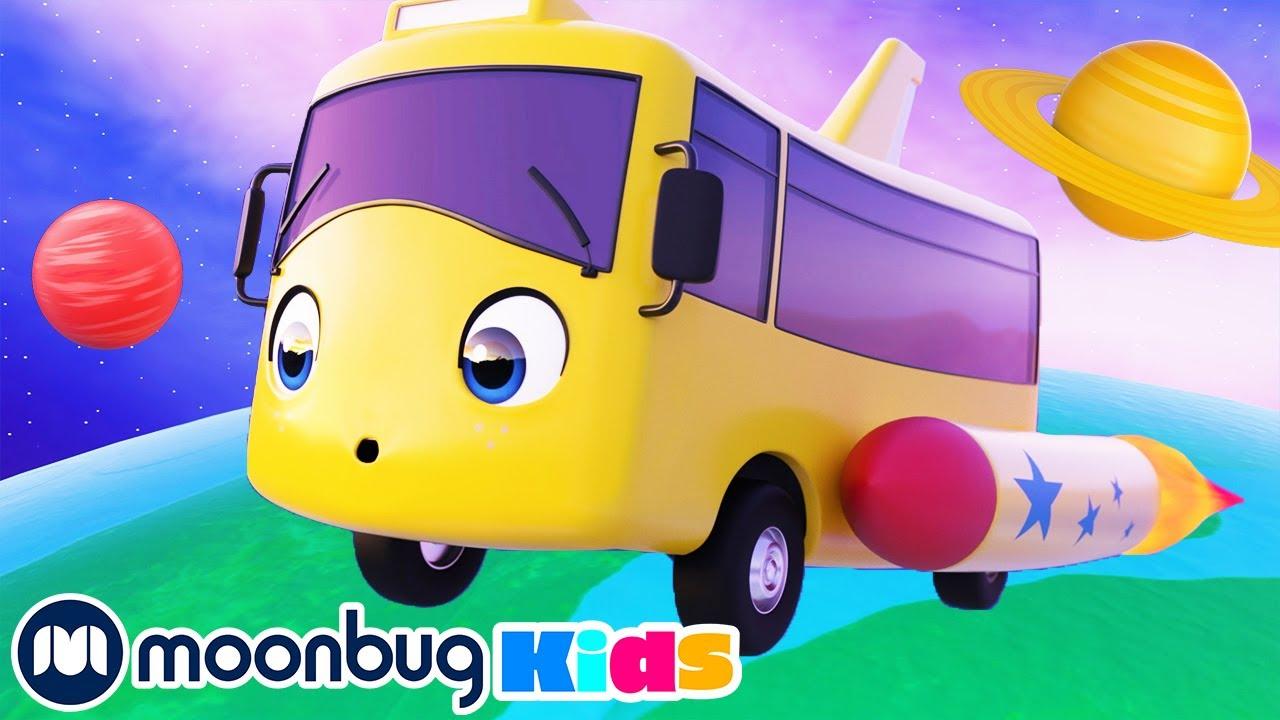 Buster en el Espacio - Go Buster | Caricaturas para Niños | Moonbug en Español