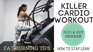 GET LEAN WITH FREE PLYO & HIIT PROGRAM   BURN FAT WITH MY KILLER CARDIO WORKOUT ♥