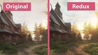 Vanishing Ethan Carter Pc Original Vs Redux Unreal Engine Vs Graphics Comparison