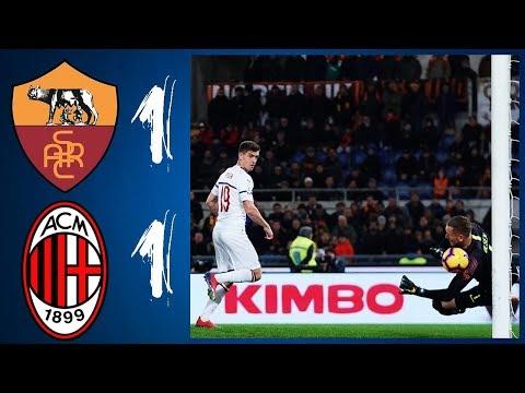 ROMA - MILAN: 1-1 // PAREGGIO GIUSTO