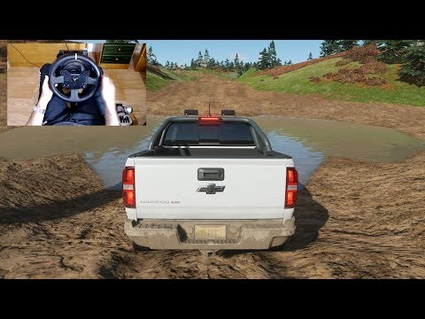 Forza Horizon 4 - CHEVROLET COLORADO ZR2 - OFF-ROAD With THRUSTMASTER TX + TH8A - 1080p60FPS