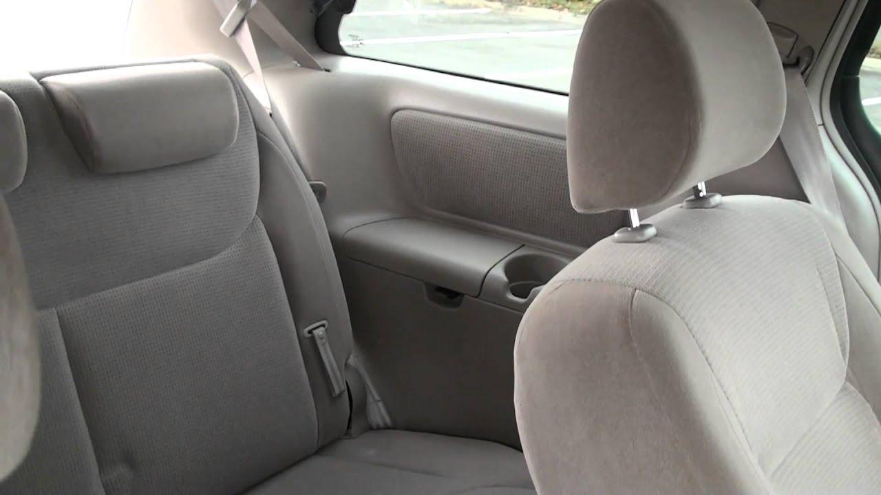 2004 Toyota Sienna LE   Interior Tour   YouTube
