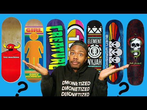 WHICH SKATEBOARD COMPANIES ARE THE BEST?