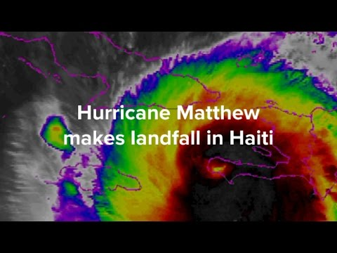 Hurricane Matthew Makes Landfall In Haiti And Could Hit Florida