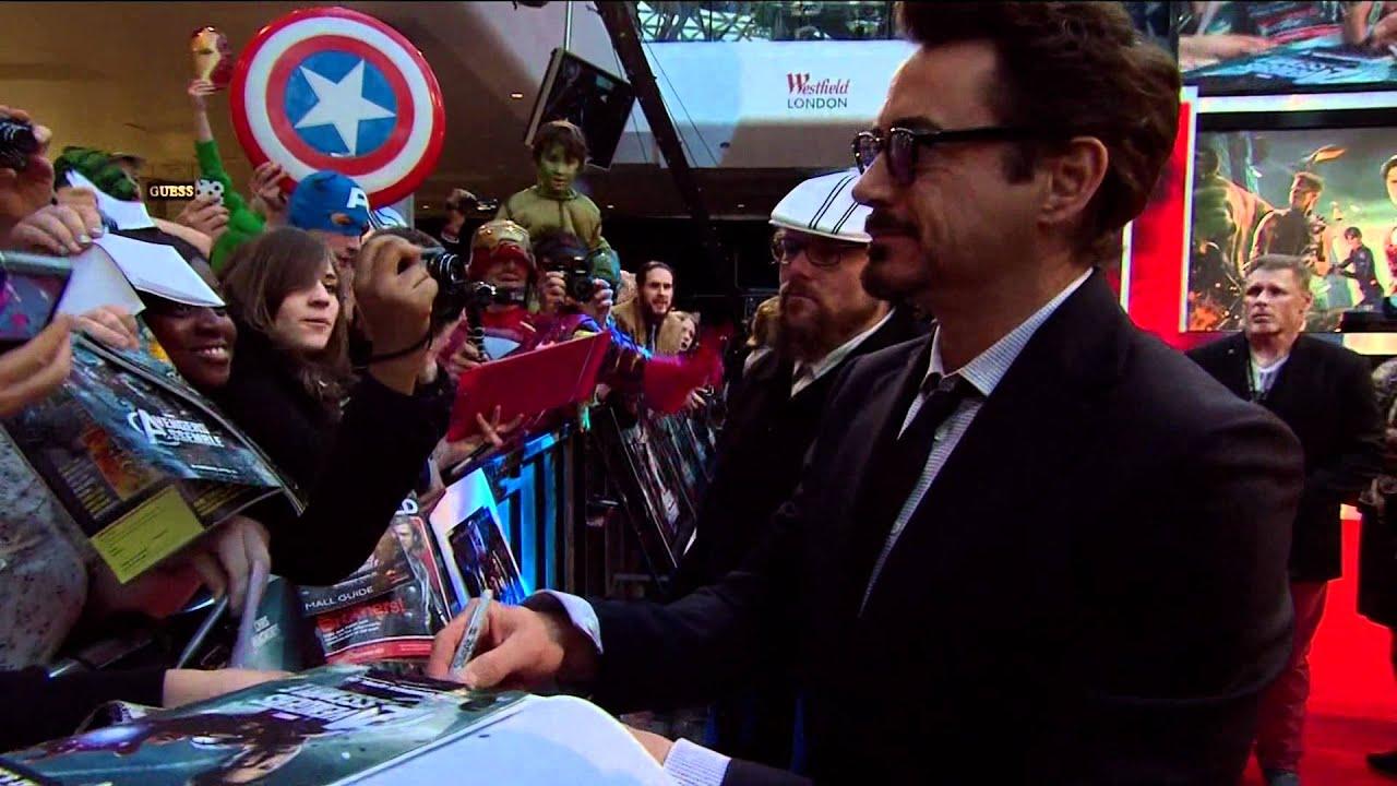 Marvel's Avengers Assemble - European Premiere - Westfield, London, April  19 2012 - Official   HD