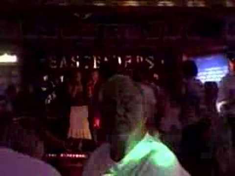 Julie and Milena -- Karaoke in Mallorca