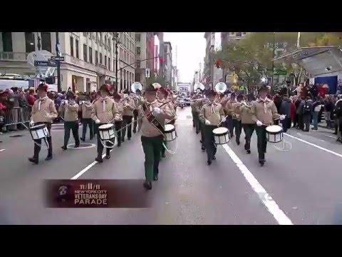 MVB op FOX tijdens Veterans Day Parade New York 2011