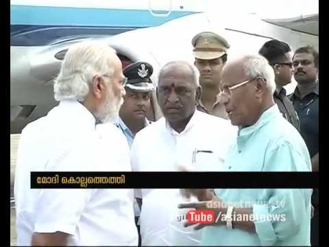 Narendra Modi visits Kollam Temple Fire Disaster Area