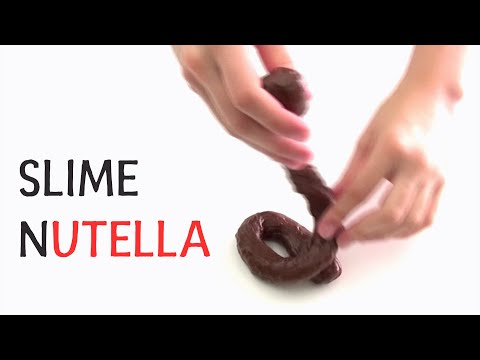 How to make edible chocolate slime without condensed milk