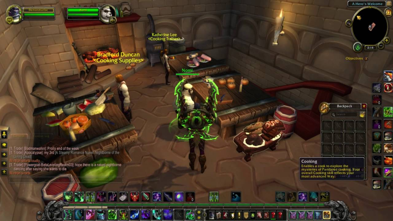 legion cooking how you unlock recipes and how it works