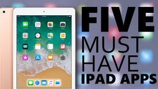 5 IPAD APPS I CAN