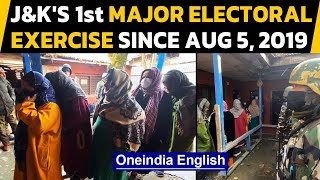 J&K: First-ever DDC polls begin | Grassroots democracy revived | Oneindia News