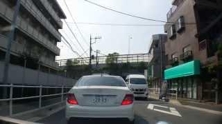 ショートカット、京葉道路下。