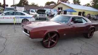"HOTCARSTV: ""Who's the Sickest"" Car Show - Buick Riviera on Irocs"