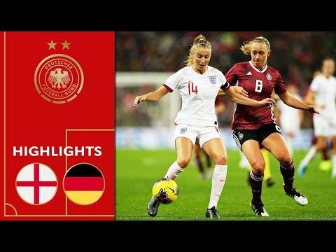 England Vs. Germany 1-2 | Highlights | Women's Friendly