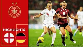 England vs. Germany 1-2 | Highlights | Women's Friendly