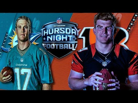 Thursday Night Football: Miami Dolphins vs. Cincinnati Bengals