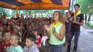 Робик в Лазурном(На берегу Черного моря в посёлке Лазурное Херсонской области проходила первая смена летнего лагеря для..., 2016-07-08T08:16:00.000Z)