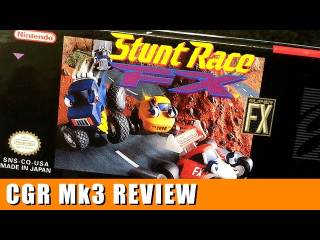 Classic Game Room - STUNT RACE FX review for Super Nintendo