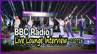 210728 BBC라디오 인터뷰/ BBC Radio1 …