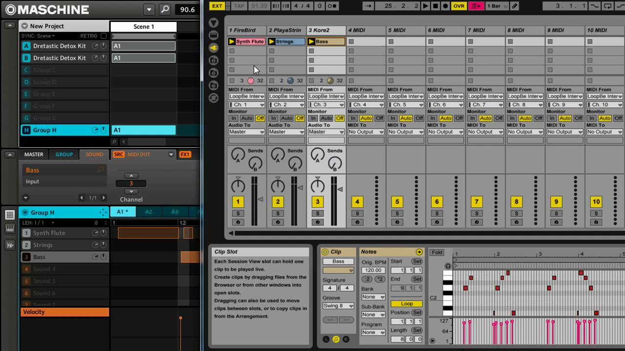 native instruments vs ableton