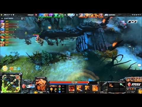 Dota 2- MSI Beat It RGN League Wildcard : Dream5 vs Gizzard