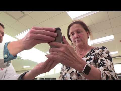 ASK UNMC! Can looking down and texting on a cell phone create health problems?