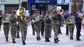 Marching Medley includes Jerusalem & Donald where's your Troosers - Dundee, Scotland 2019