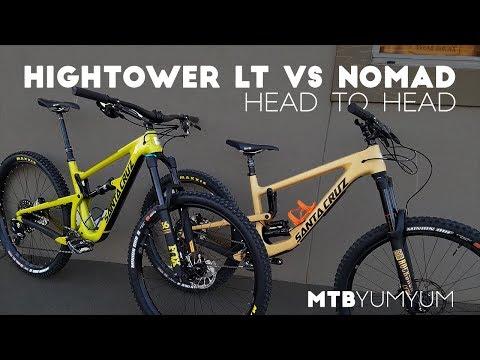 2018 Santa Cruz Hightower LT vs Nomad
