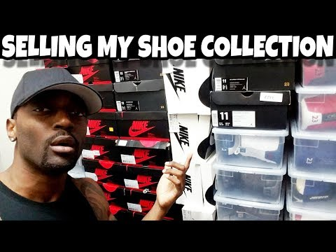 "DONT SLEEP I""M SELLING MY SHOE COLLECTION FOR A STEAL!!!!"