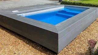Heated Splash Pool / Dip Pool Construction (Semi In-Ground) – Step by Step