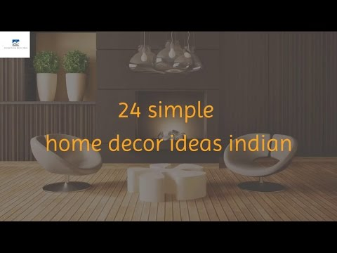 24 simple home decor ideas indian YouTube