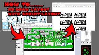 Cara Cepat Menjiplak PCB Layout Dengan Sofware SPRINT-LAYOUT, Dijamin 100% Work..!!!