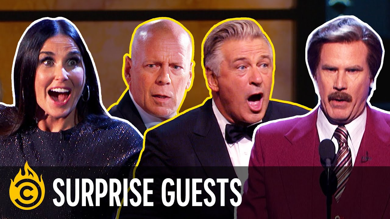 The Best Surprise Guests - Comedy Central Roast