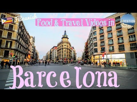FOOD & TRAVEL VIDEO IDEAS for BARCELONA, SPAIN