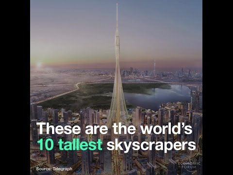 These are the world's 10 tallest skyscrapers