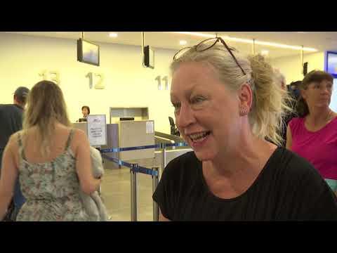 Monarch customers express mixed emotions at Gibraltar Airport