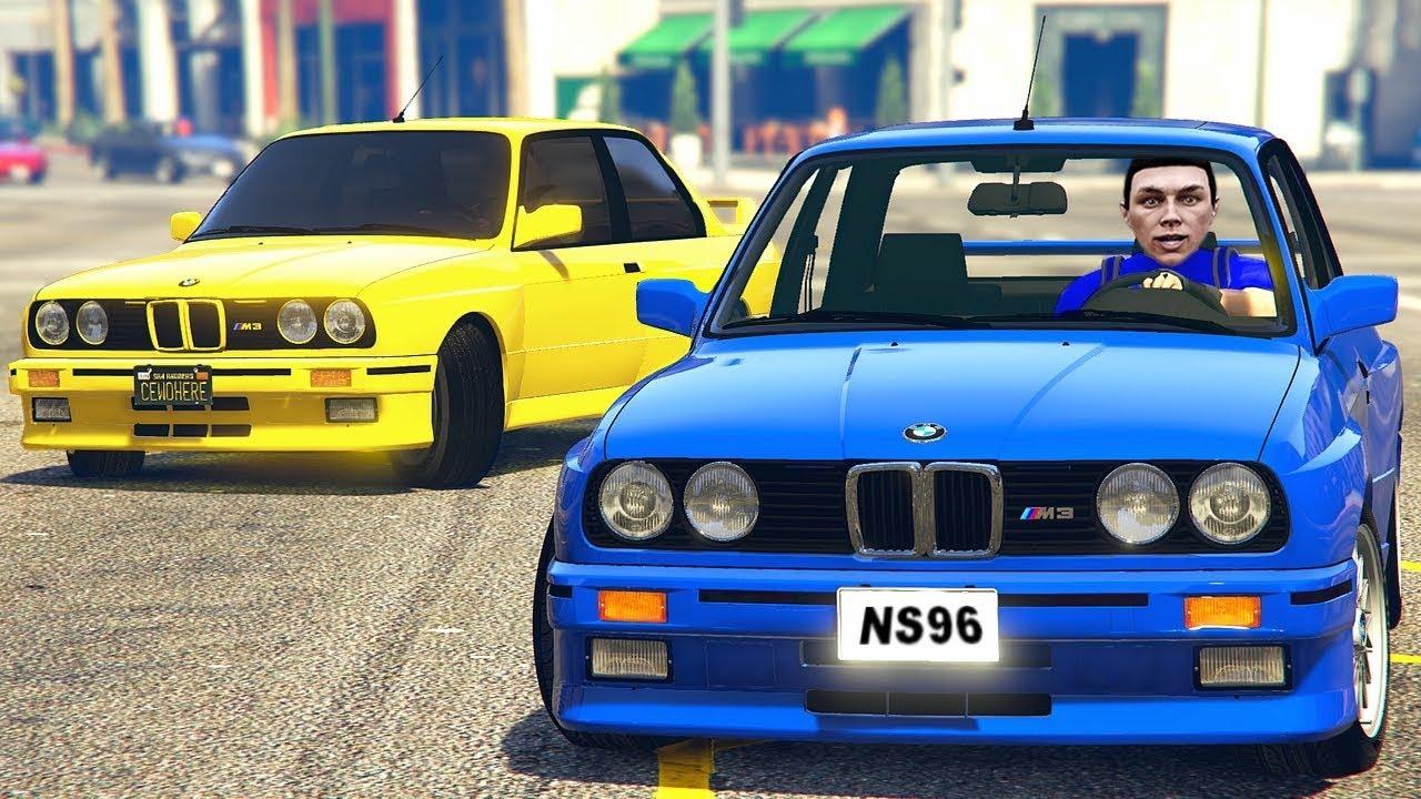 BMW M3 E30'LA YANLIYORUZ (GTA 5 FiveM) - YouTube