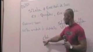Videoaula - Língua Portuguesa -01-  Sílaba, fonema, divisão silábica, vogal,semivogal.