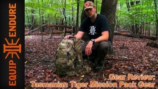 Tasmanian Tiger Mission Pack Gear Review by Equip 2 Endure