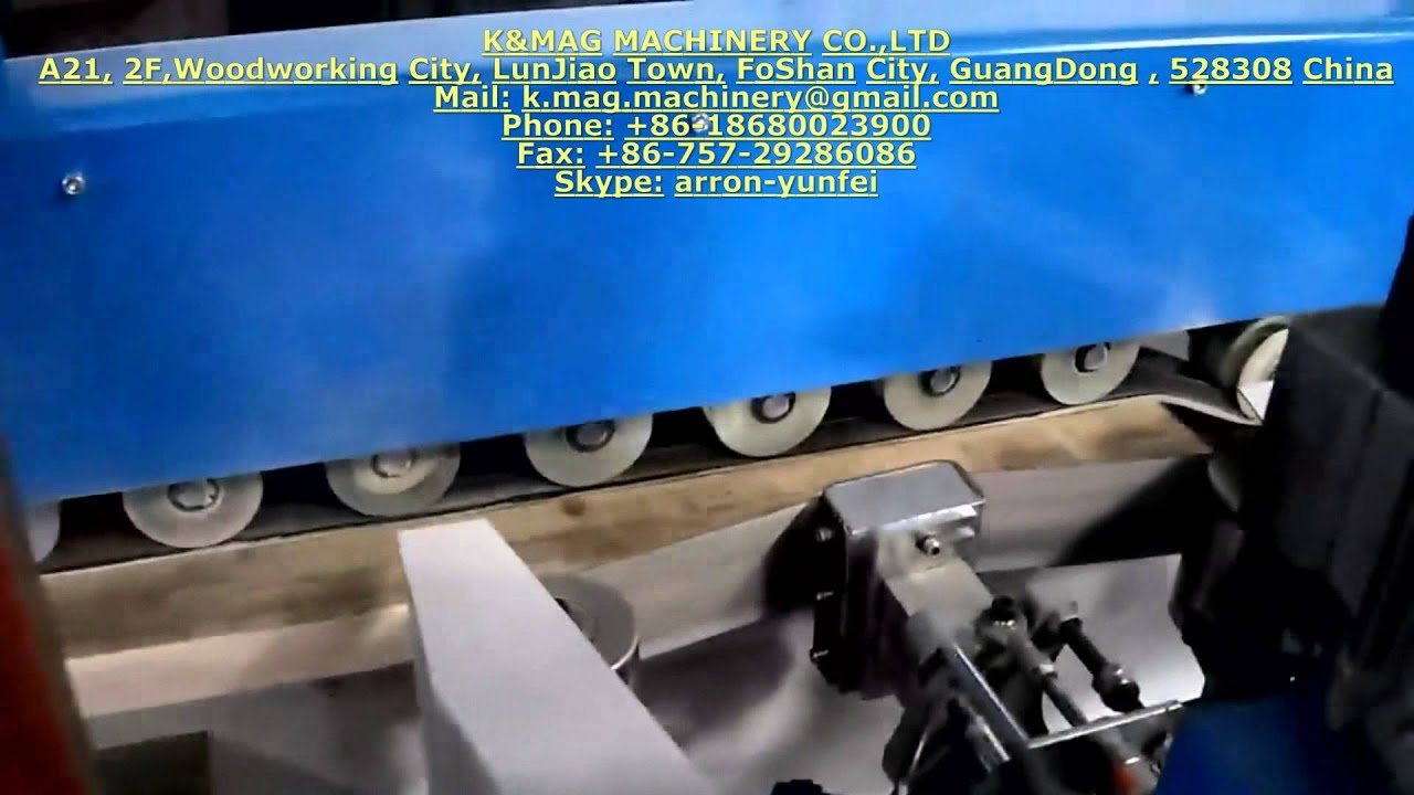 Straight Line Sanding Machine - YouTube