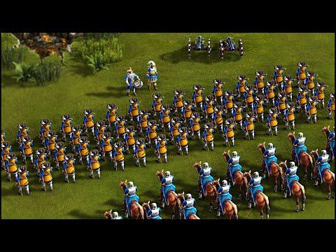 SWEDISH INVASION - Cossacks 3 Gameplay