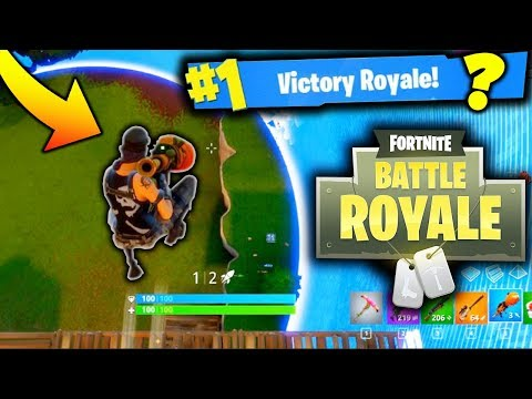 INSANE GAME OF FORTNITE BATTLE ROYALE!!! (Game Changing Bush Update)