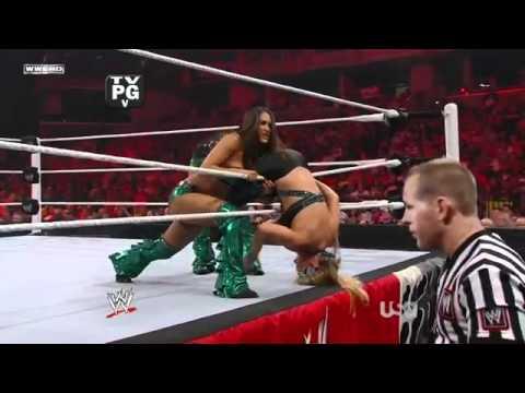 Divas Battle Royal: #1 Contenders Match- August 1st 2011 *GLAMAZON Heel Turn*
