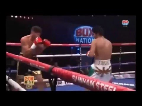 VIJENDER SINGH Knockout Punch in PRO BOXING - BEST OF BEST VIJENDER