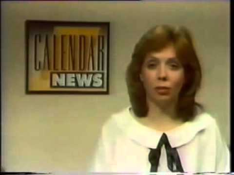 Calendar Late News 11th March 1987 Youtube