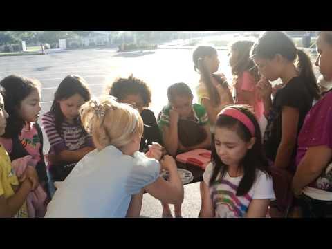 Cinderella & Belle School Event