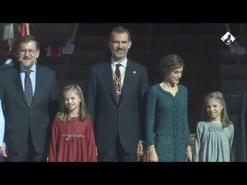 Los Reyes presiden la Solemne Apertura de las Cortes Generales