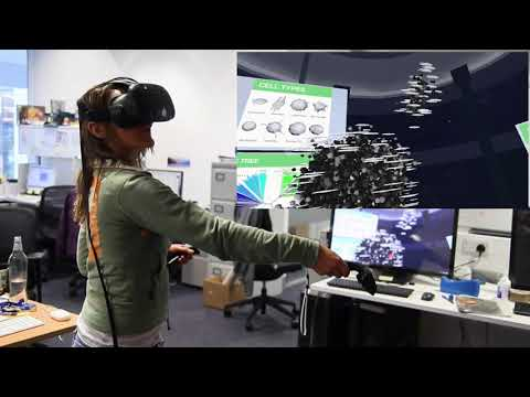 A demonstration of CRUK Cambridge Institute's VR tumour project